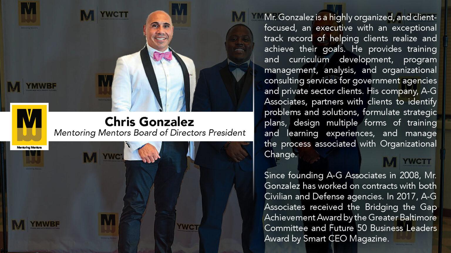 Mentoring Mentors Board of Directors President